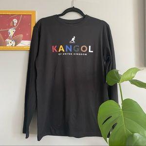 Kangol Black Long Sleeve Tee